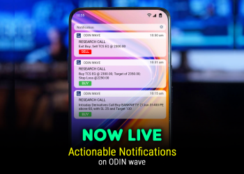 Actionable Notification now on ODIN Wave