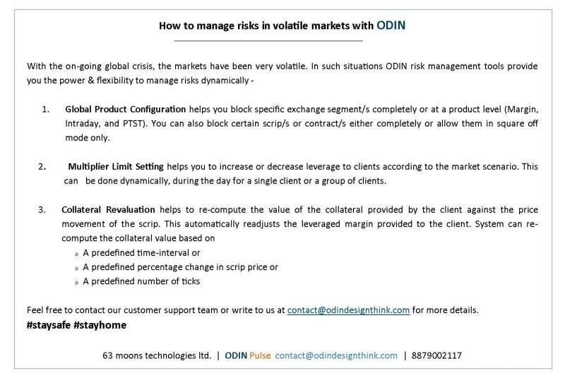 How to manage risk in volatile market with ODIN